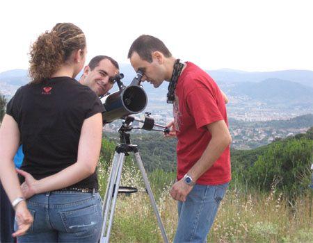 como usar un telescopio bresser