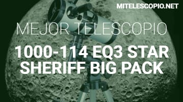 Telescopio 1000-114 EQ3 Star Sheriff
