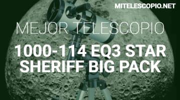 Telescopio 1000-114 EQ3 Star Sheriff